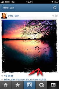 tags på instagram